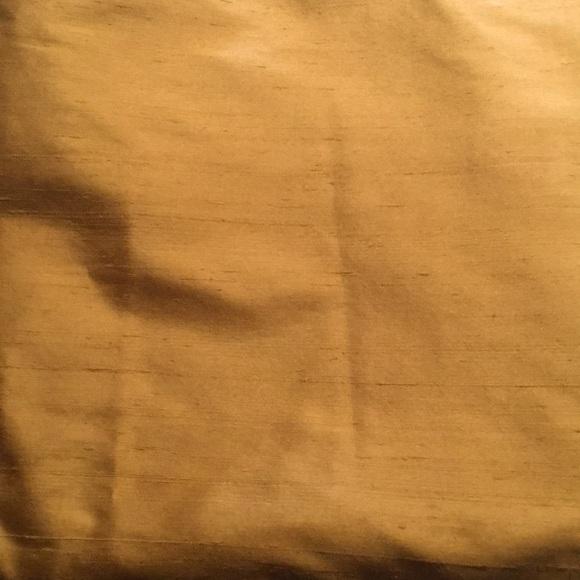 Pair of PB Silk Dupioni Drapes